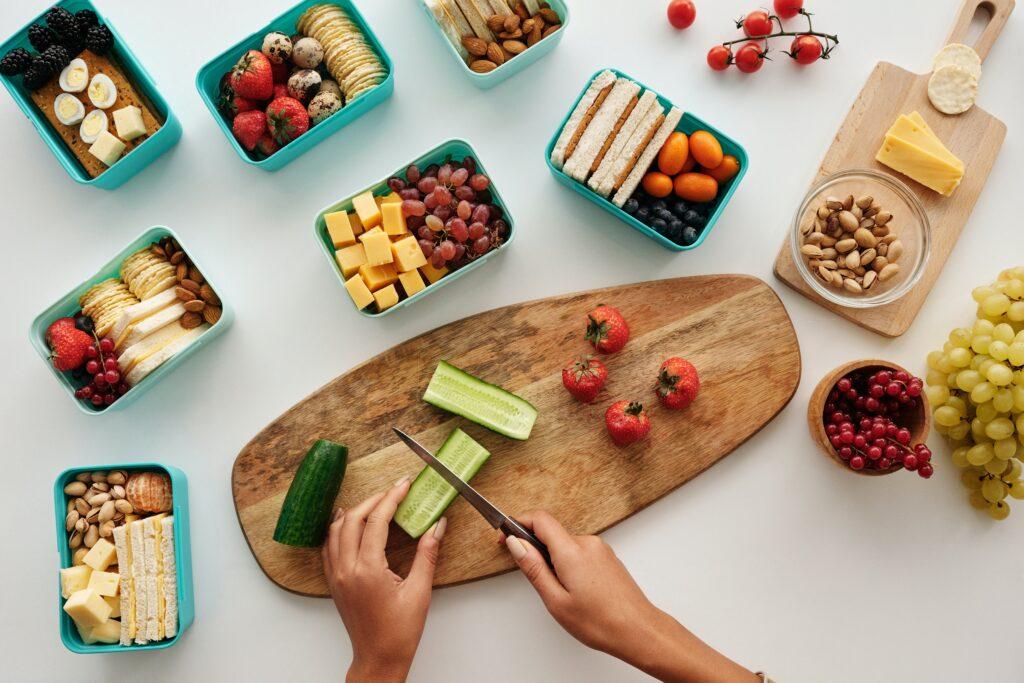 St Paul's School - prepare snacks for school lunches